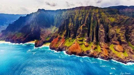 Hawaii - Steilklippe