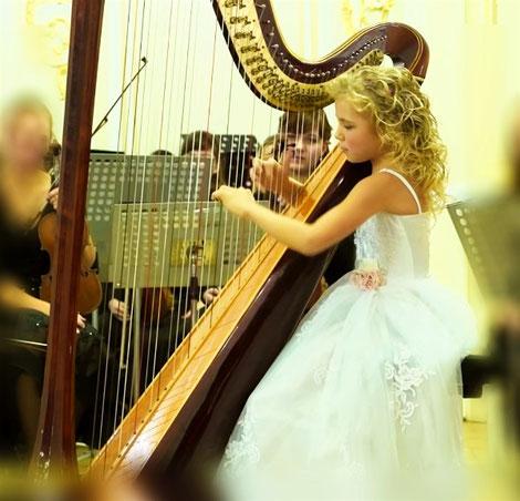 faire un exposé sur la harpe