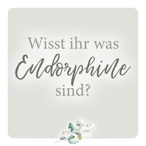 Endorphine - Glückshormone