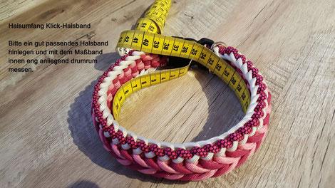 Messanleitung Halsband
