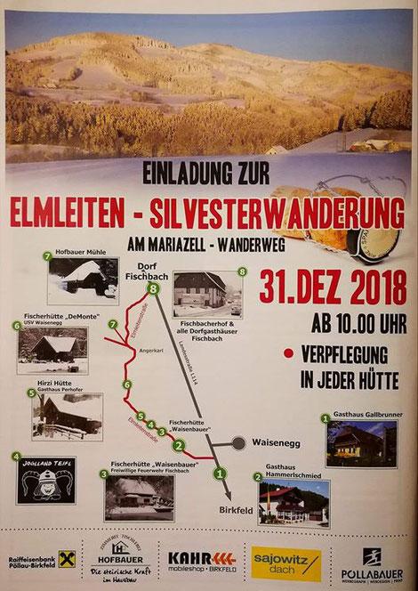 Silvester Wanderung 2018