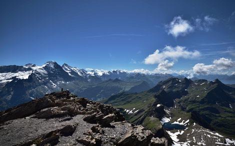 Panorama vom Schwarzhorn
