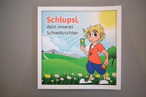 Das Kinder-und Bilderbuch von Schlupsi®, dein innerer Schiedsrichter