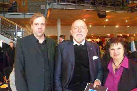 Volker Rapp, Prof Markus Lüpertz, Katy Schnee, 28.10.2012