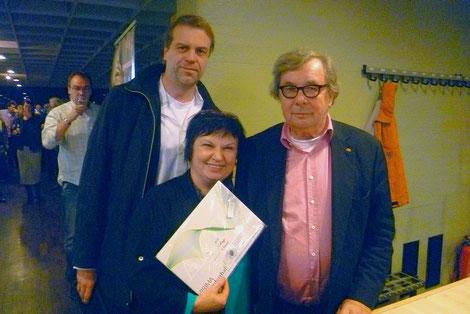 Volker Rapp, Katy Schnee, Hellmuth Karasek, 18.11.2012