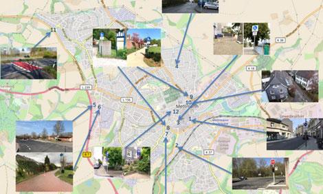 Grafik: Kreisstadt Mettmann / openstreetmap.org