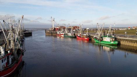 Der kleine Fischereihafen