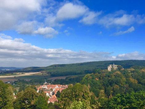 Fantastische Ausblicke begleitet euch auf dem Pilgerweg © Naturpark Teutoburger Wald/Eggegebirge