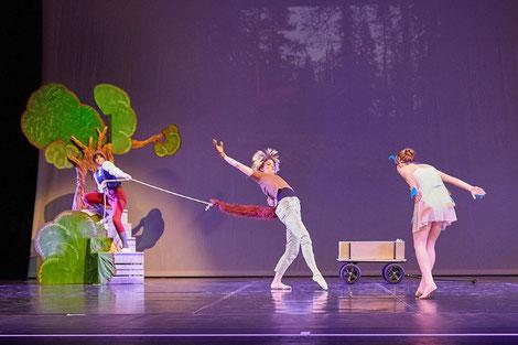Ballettaufführung, Ballett für Erwachsene, Iyengar-Yoga, Bochum