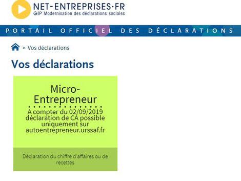 microentreprise charges sociales autoentrepreneur Frankreich Sozialabgaben