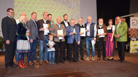 Honigprämierung 2018: Sieger der Kärntner Bären in Gold, Silber und Bronze