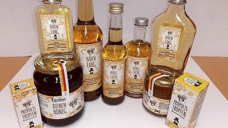 Die neue Kärntner Etikette wurde auf zahlreiche weitere Bienenprodukte erweitert
