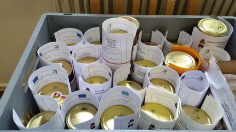 Ab sofort können die Honigproben wieder eingereicht werden. Wir freuen uns!