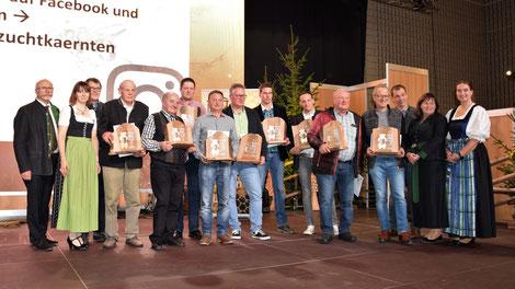 Honigprämierung 2019: Sieger der neuen Kärntner Bären in Gold, Silber und Bronze