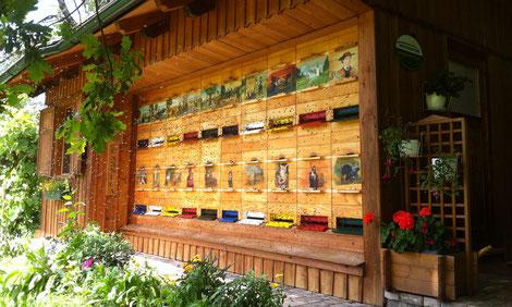 Eine Bienen- und Augenweide: der Bio-Imkereibetrieb der Familie Reinwald in Globasnitz