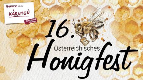 Von 10. bis 11. August findet das 16. Österreichische Honigfest in Hermagor statt