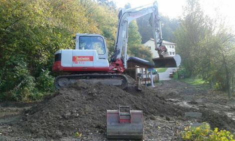 Ein Murenabgang im September 2017 verwüstete das Gelände der Kärntner Imkerschule in Ochsendorf