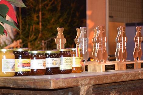 2018 wurden 207 Honigproben von 160 Teilnehmern eingereicht und 198 prämiert