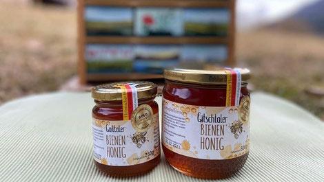 Die neue Kärntner Honigetikette: Einheitliches Design mit regionalem Herkunftsbezug