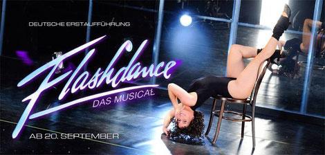 Deutsche Erstaufführung von Flashdance im Opernhaus Chemnitz