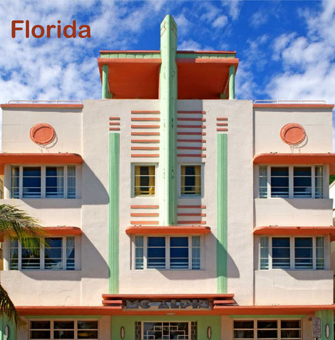 Florida, USA, Reisebildband, Bildband, preiswert, Miami, Fort Lauderdale, Key West, Tampa, Fort Myers, Sanibel Island, Cape Coral, Naples, Everglades Natioanl Park