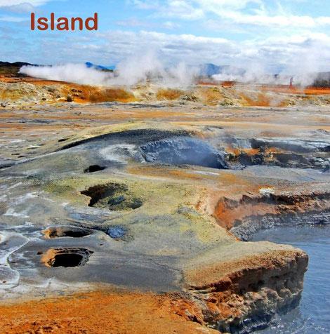 Island, Vulkane, Geysire, Wasserfälle, Gletscher, Fotobuch, bildband, preiswert