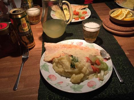 Helags Husky : Abendbrot