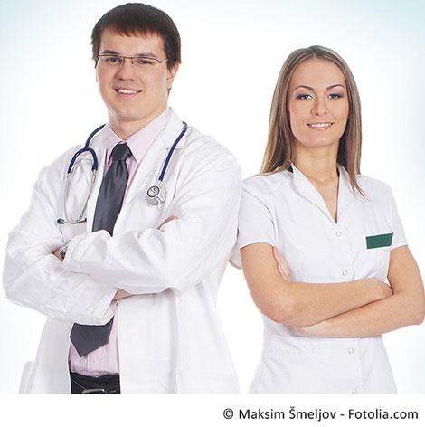 Berufskleidung Mediziner
