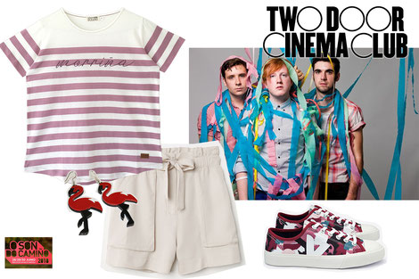 Looks de festival O son do camiño: Inspiración Two Door Cinema Club