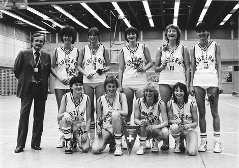 Damen Schweizer Meisterinnen 1982/1983