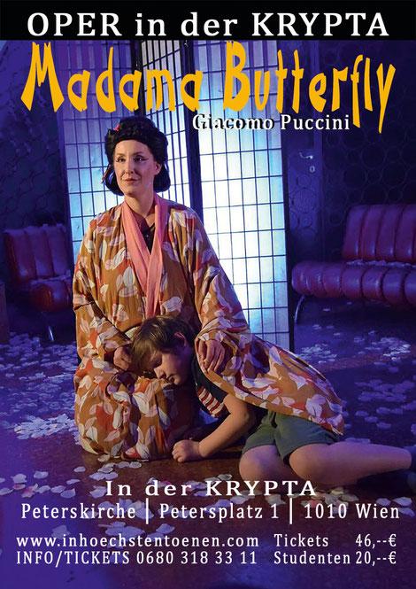 MADAMA BUTTERFLY - Giacomo Puccini in der KRYPTA