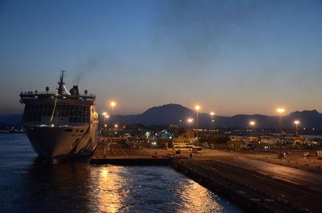 Nachtfähre von Olbia nach Genua