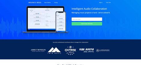 Bounceboss - Sharing Music Cloud