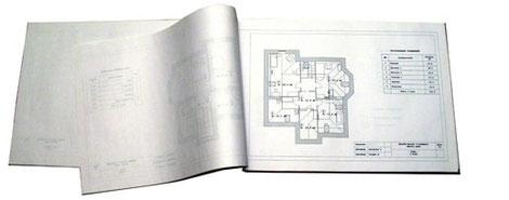 изображение подшитого дизайн проекта