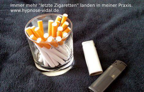 """Immer mehr """"letzte Zigaretten"""" landen in meiner Praxis."""
