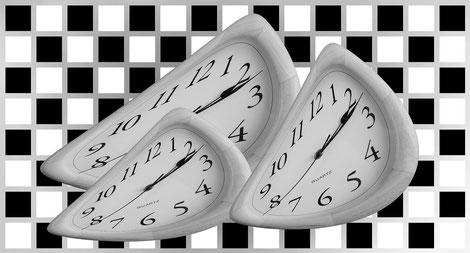 7 Rundenn mit je 12,5 Minuten Bedenkzeit pro Spieler