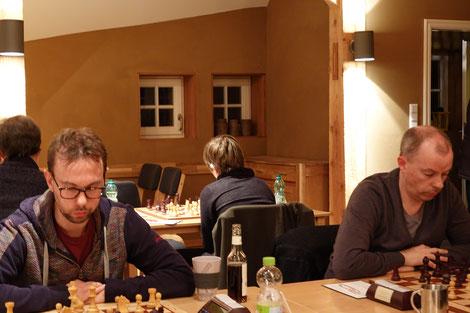 Günter und Stefan kämpften bis zum Schluss