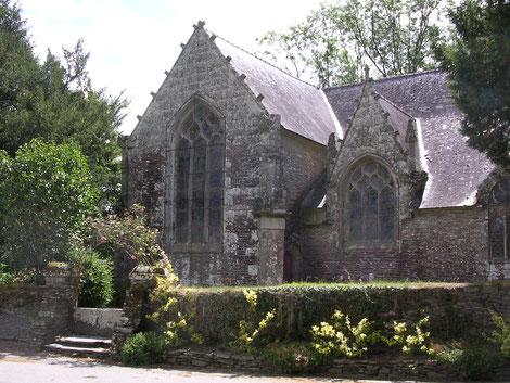 La chapelle du Krann, Spézet.