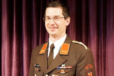 OBI Georg Crepaz, Zugskommandant 1. Zug