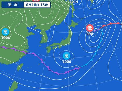 20210618 17:10 Yahoo!天気情報