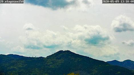 20200509 曇り空 いわま愛宕山