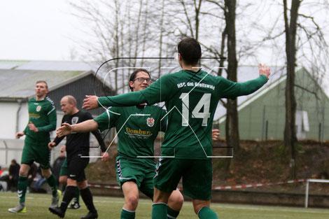 Isaak Krebes erzielte die zwischenzeitliche Führung (Foto: R.Krumbholz)