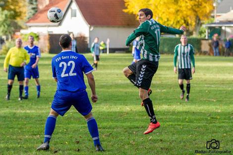 Das frühe Tor von Lars Dosdall entscheidet das Spiel! (Foto: Baltic-Fotografie)
