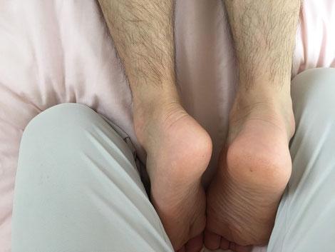 脚の長さ左右の違い