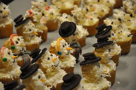 Cupcakes aus Kokosraspeln
