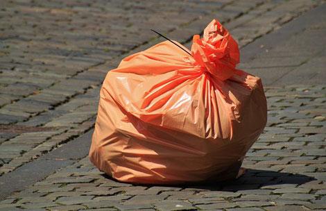 1 Abfall Sack pro Jahr