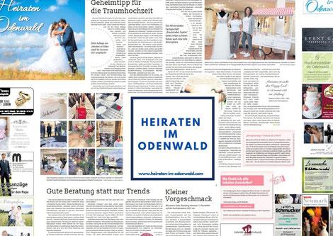 Zeitungsartikeln mit Bildern von andrea kruse und anderen dienstleistern
