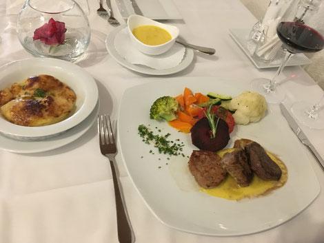Les Troit Filets Schweizer Küche Spezialitäten