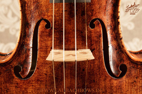 Laubach's limited edition violins the old Cremona and Venetian from Italian masters