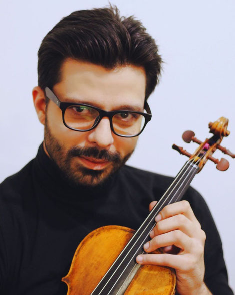 Professor and violin solist Razvan Stoica